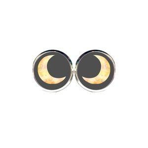 Spooky Moon Earrings - Halloween